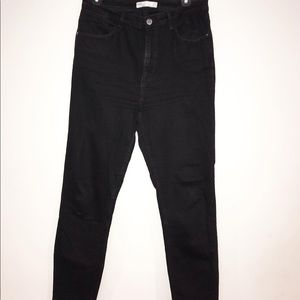 Cute Zara black jeans size 10 great condtion